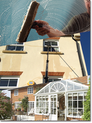 domestic home window cleaners in mansfield notts